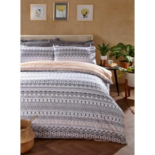 Loft Studio Aztec King Duvet Set - Mono