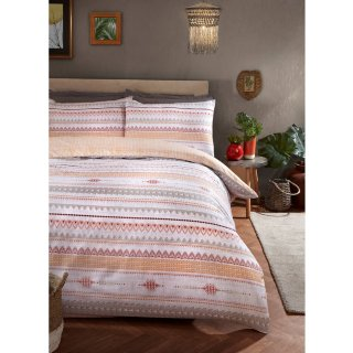 Loft Studio Tribal King Duvet Set - Ochre