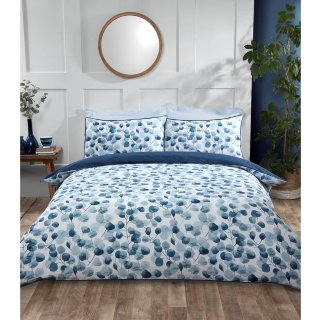 Home & Co Nordic Leaf King Duvet Set - Blue