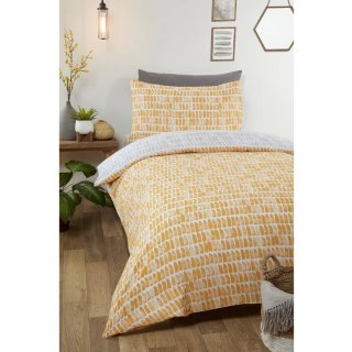 Loft Studio Mika Single Duvet Set - Ochre