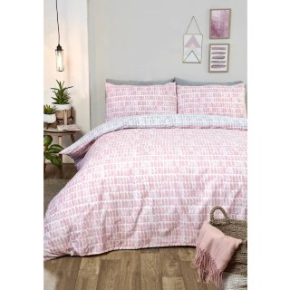 Loft Studio Mika Double Duvet Set - Blush