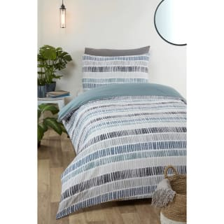 Loft Studio Mika Single Duvet Set - Grey