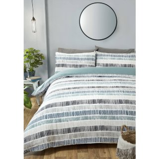 Loft Studio Mika Double Duvet Set - Grey
