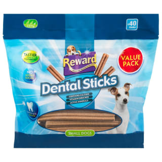 Reward Dental Sticks Small Dogs 40pk
