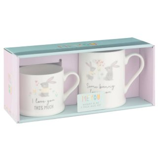Mummy & Me Mug Set 2pk - Some Bunny Loves You