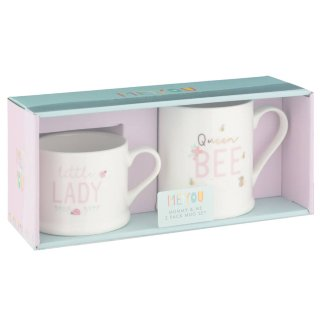 Mummy & Me Mug Set 2pk - Queen Bee