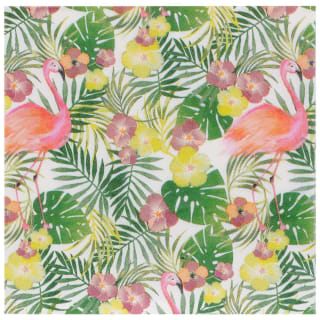 Tropical Print Napkins 40pk