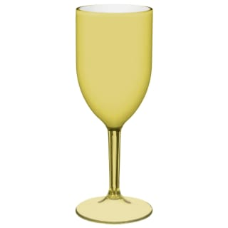 Riviera Wine Goblet - Yellow
