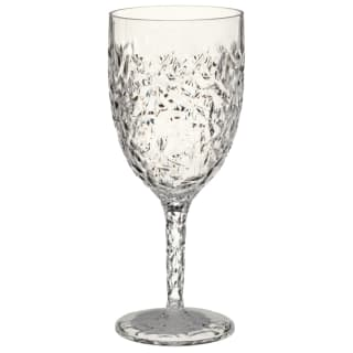 Crackle Effect Wine Glass