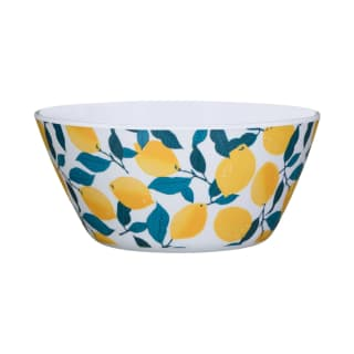 Riviera Small Picnic Bowl - Lemons