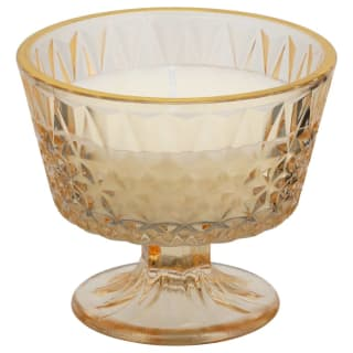 Floral Garden Scented Candle in Glass Holder - Mandarin & Cassis