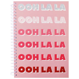 Oh Ok Sunshine A5 Notebook - Ooh La La