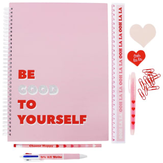 Oh Ok Sunshine Large Stationery Set 11pk - Be Good to Yourself