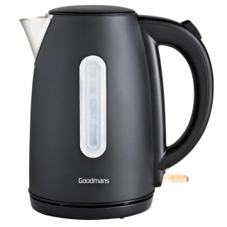 Goodmans Stainless Steel Jug Kettle 1.7L - Matt Black