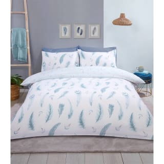 Home & Co Feather Double Duvet Set - Blue