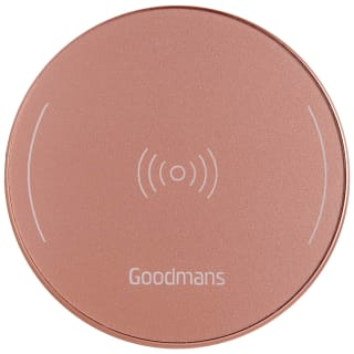 Goodmans Metallic Wireless Charging Pad - Rose Gold