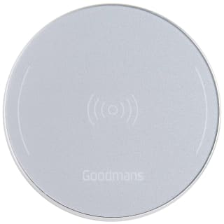 Goodmans Metallic Wireless Charging Pad - Silver