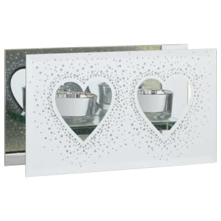 Glitter Candle Holder - Heart