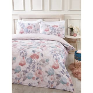 Love to Sleep Floral Cotton King Duvet Set