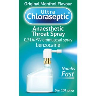 Ultra Chloraseptic Anaesthetic Throat Spray