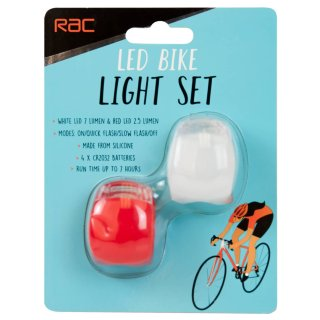 RAC LED Bike Light Set