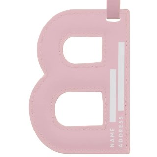 Alphabet Luggage Tag - B