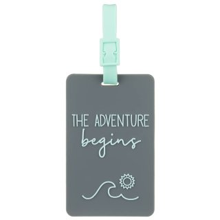 Luggage Tags 2pk - The Adventure Begins