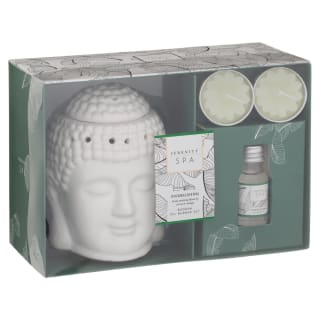Buddha Oil Burner Set