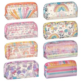 Clear Fashion Pencil Case