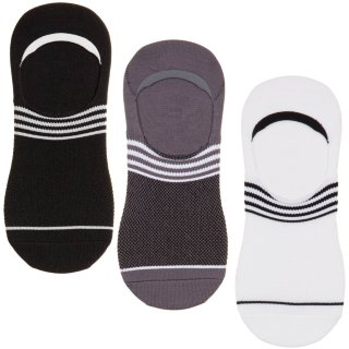 Ladies Active Hidden Sports Socks 3pk