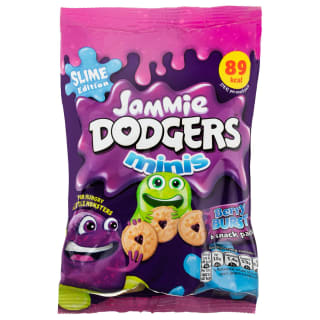 Mini Jammy Dodgers Slime Edition 6pk - Berry Burst
