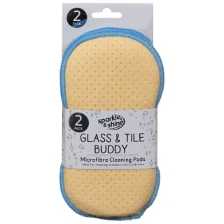 Glass & Tile Buddy Cleaning Pads 2pk - Blue