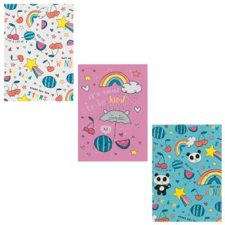 Mini Notebooks 3pk - Rainbows