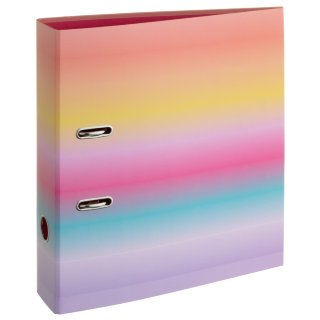 A4 Lever Arch File - Rainbow