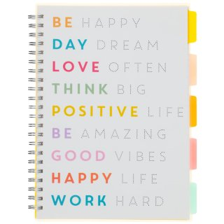 A4 Project Notebook - Be Happy