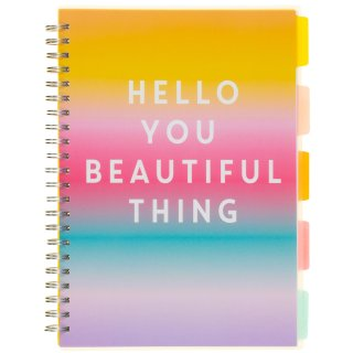 A4 Project Notebook - Hello You Beautiful Thing