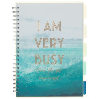 A4 Project Notebook - I Am Very Busy