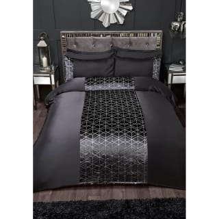 Karina Bailey Lexi King Duvet Set - Charcoal