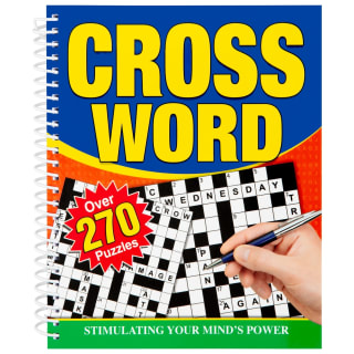 Large Print Puzzle Book - Crossword