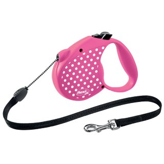 Flexi Dog Lead 5m - Pink
