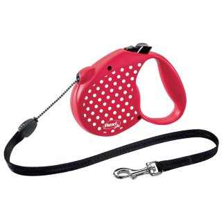 Flexi Dog Lead 5m - Red