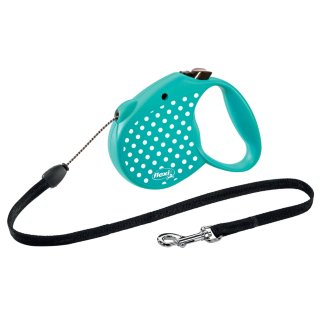 Small Flexi Dog Lead 5m - Green