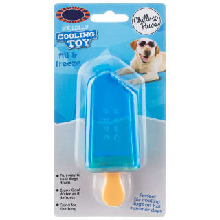 Ice Lolly Dog Cooling Toy - Blue