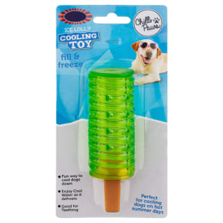 Ice Lolly Dog Cooling Toy - Green