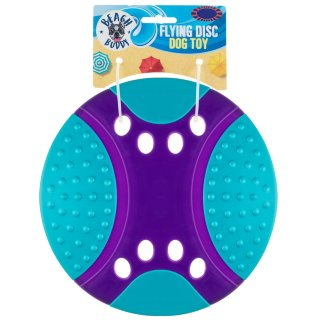 Flying Disc Dog Toy - Purple