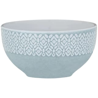 Grey Embossed Bowl 5.5""