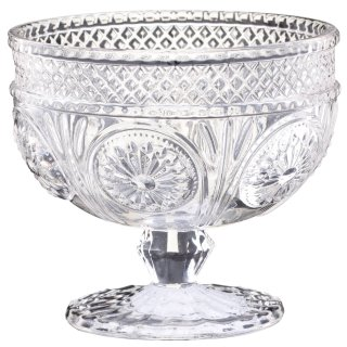 Glass Dessert Bowl - Clear