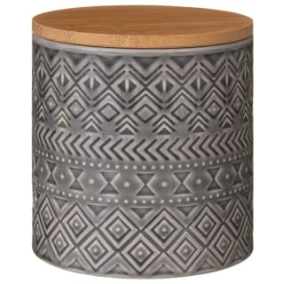 Tribal Grey Storage Canister