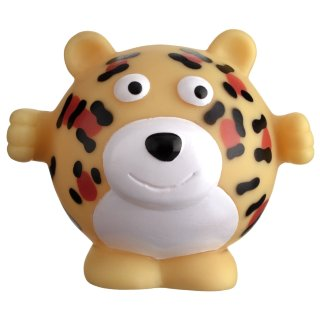 Jungle Vinyl Dog Toy - Tiger