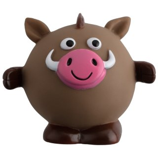 Jungle Vinyl Dog Toy - Boar
